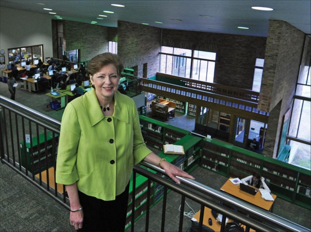 Sarah Ferguson Assistant Librarian, 1978; Executive Dean, Educational Resources, 2014