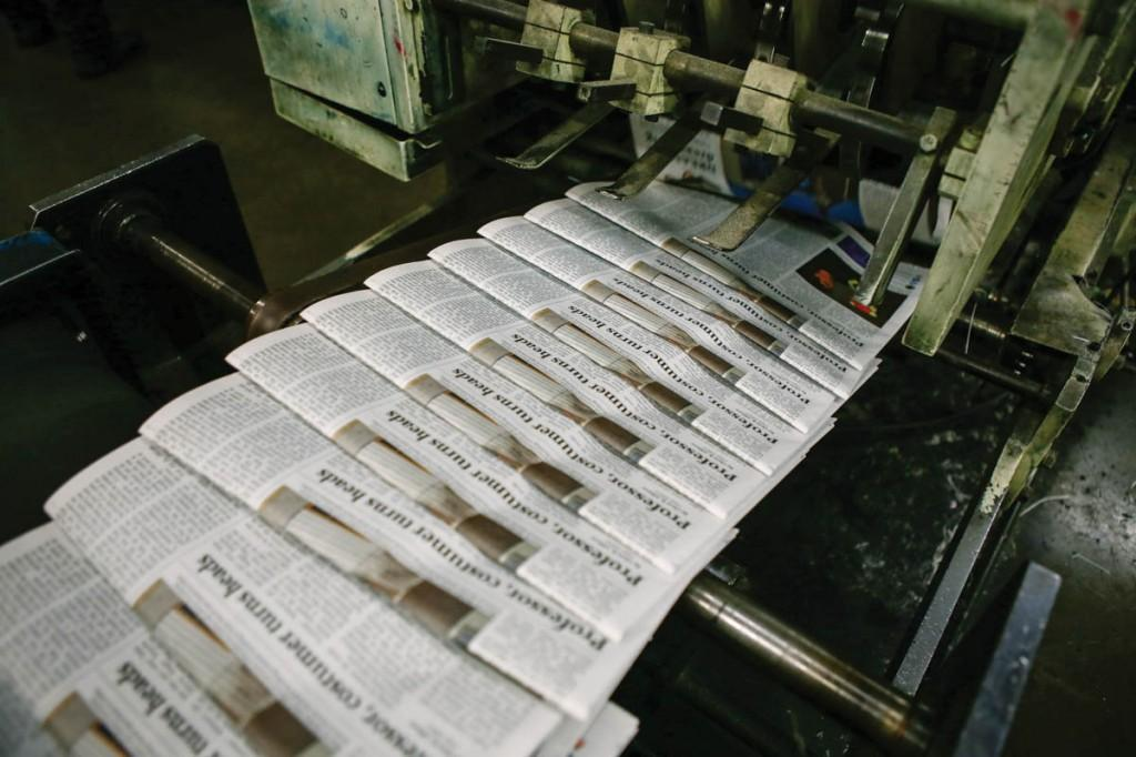 3,000 copies of the Brookhaven Courier are printed.