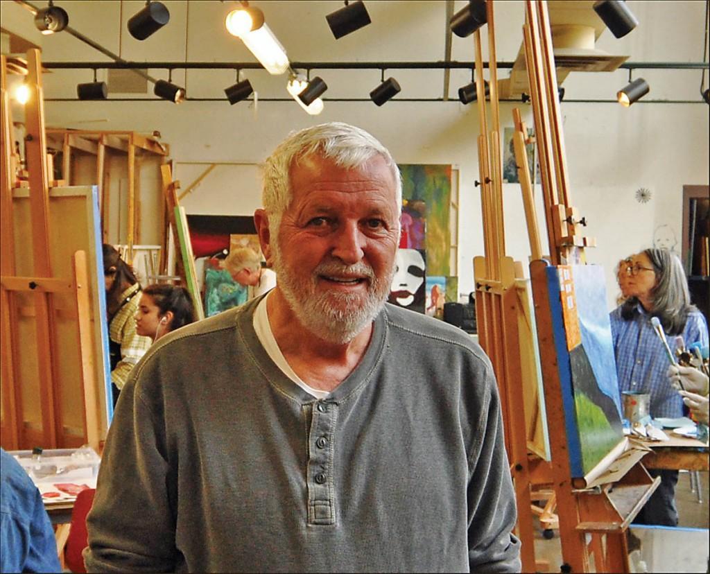 Don Taylor Art Instructor, 1978; Art Professor, 2014