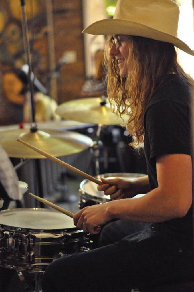 "Alexander Rosenblad plays his solo during the song ""Flor D' Luna."""