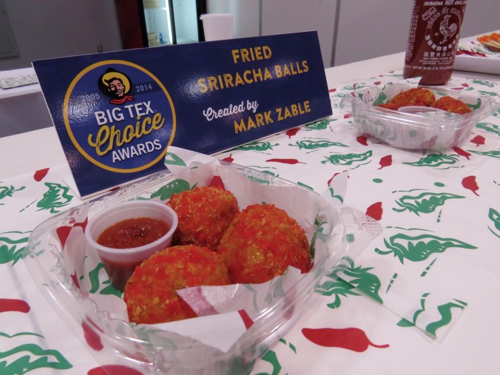 Photos by Carmina Tiscareño and Kathy Tran | The Fried Sriracha Balls are sure to kick up the heat at this year's state fair.