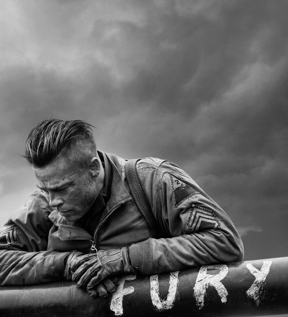 "Photo courtesy of Columbia Pictures | Brad Pitt plays Sgt. Don Collier (nicknamed Wardaddy) in ""Fury."""