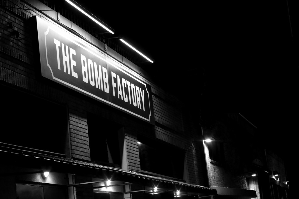 Evan Henry | Music Editor The illuminated sign for The Bomb Factory hangs above the concert venue on opening night. The sold-out show featured Erykah Badu and Sarah Jaffe.