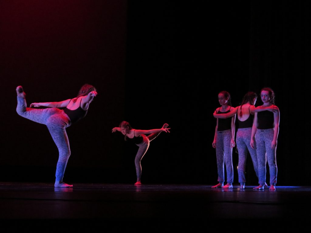 "Photos by Marilyn Velazquez Dance students from the Hathaway Academy of Ballet perform ""Mindless Paranoia."""