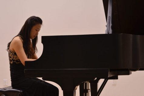 Award-winning pianist Hee Sun Yun performs at Brookhaven College in the Recital Hall during The Music Department Piano Festival, Oct. 17.