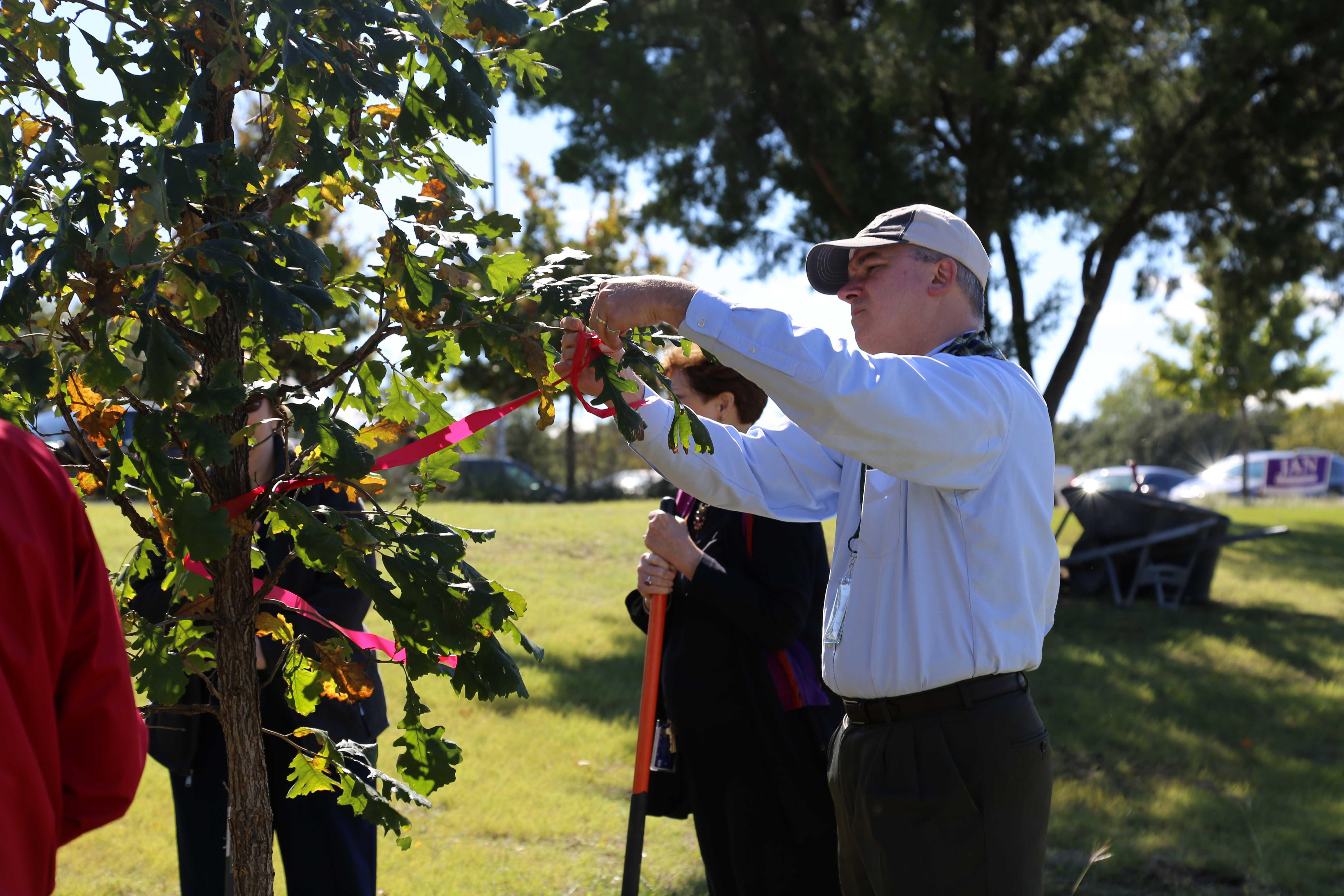 Campus celebrates Arbor Day