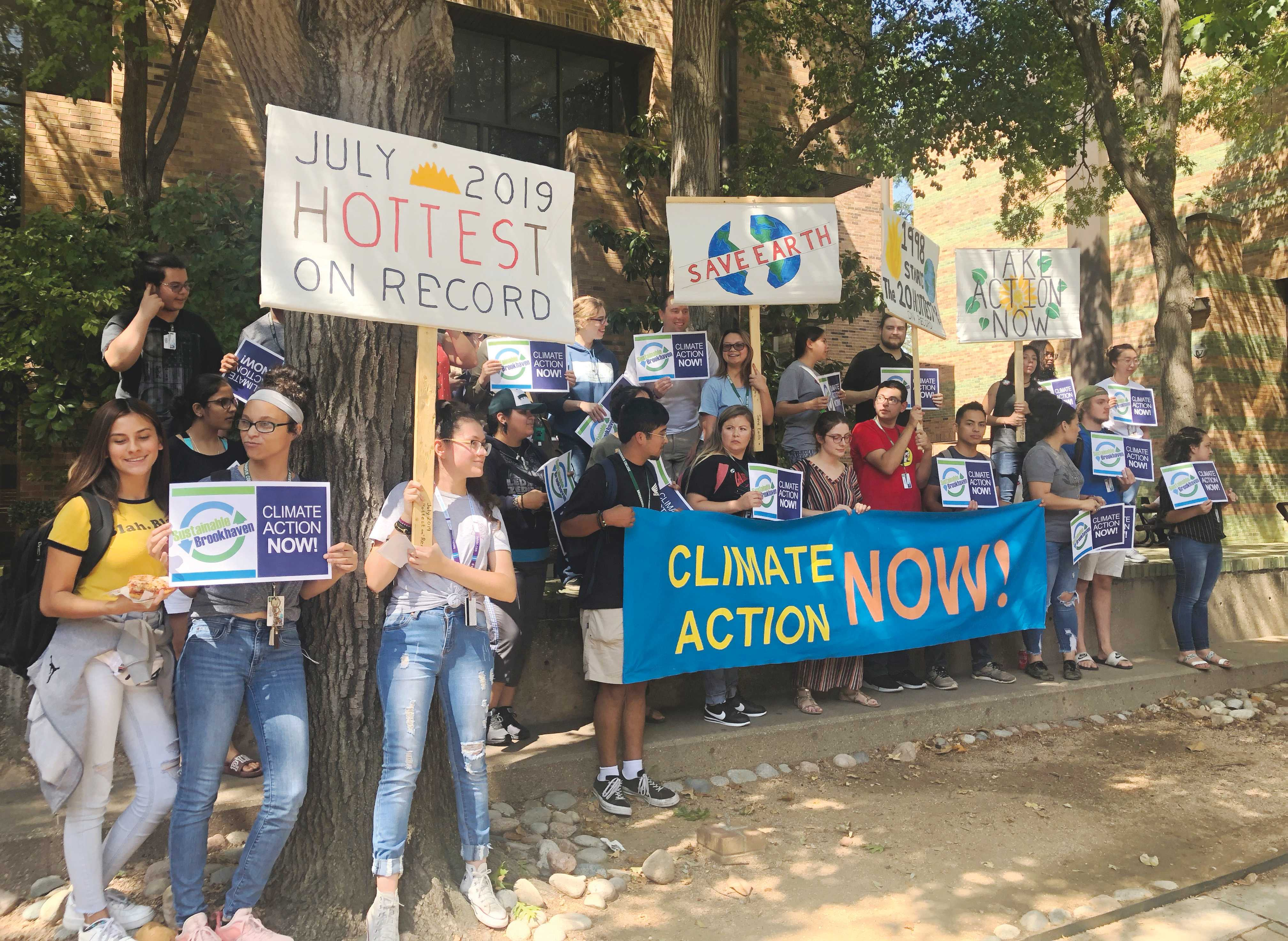 BHC students protest climate inaction