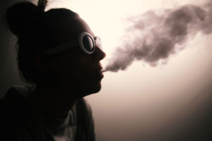 <strong>Photo illustration by Eriana Ruiz | </strong> Seventy-five cases of severe lung disease have been linked to e-cigarette use in North Texas, according to the Texas Department of State Health Services