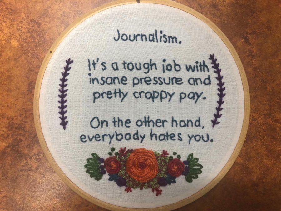 Student journalists must not crack under pressure