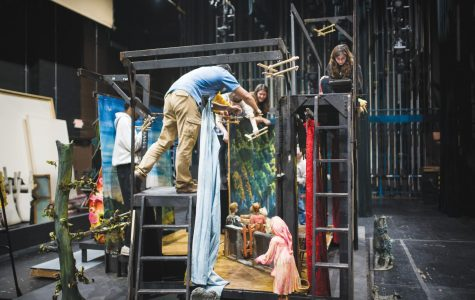 Puppets brought to life on stage