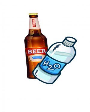 Beer/water