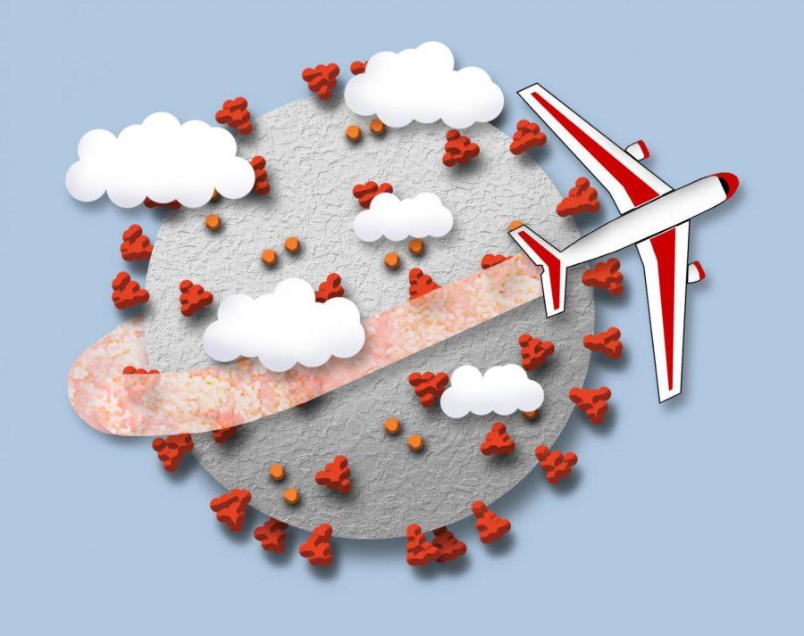 virus travel