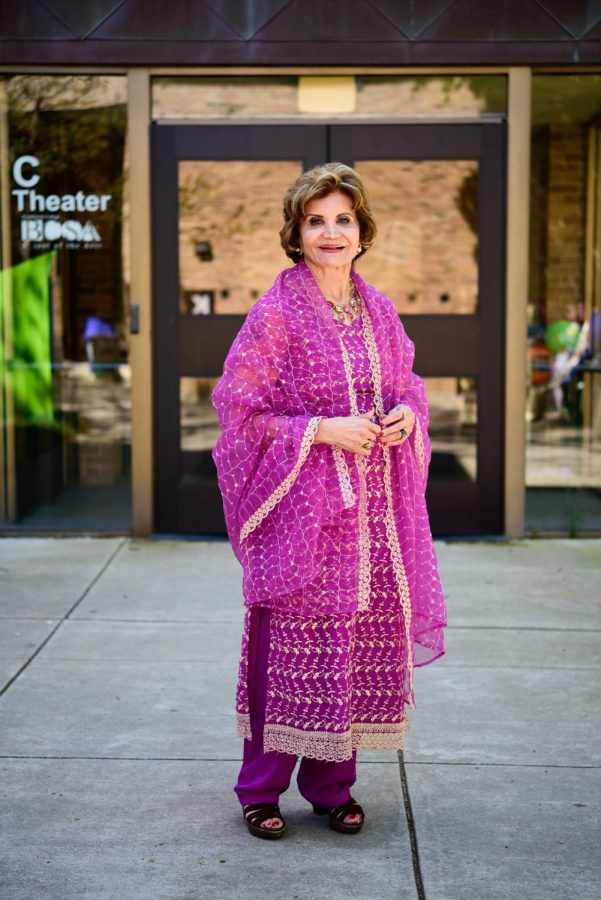 Sheri Van Court wears an Iranian outfit