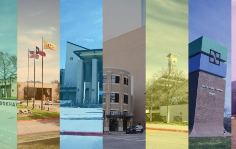 Collage of DCCCD campuses