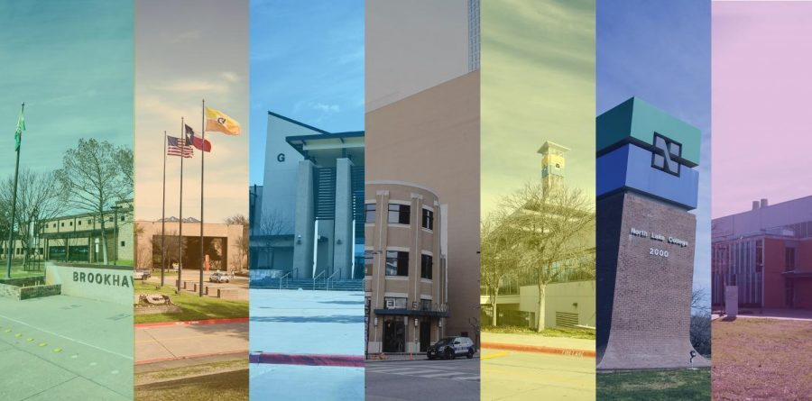 Collage+of+DCCCD+campuses