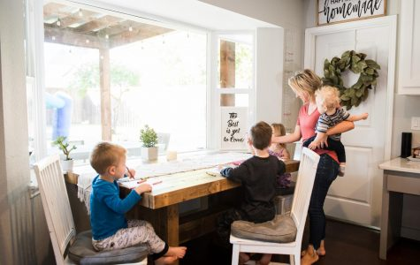 Students and professors with children juggle classes, parenting