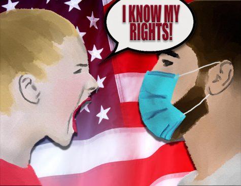 Masks shouldn't be political