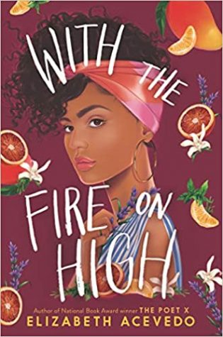 book cover for with fire on high