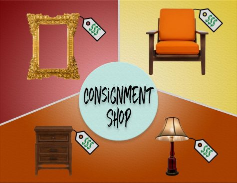 graphic for consignment shop/furnitre