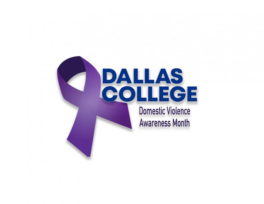 Dallas College domestic violence month logo