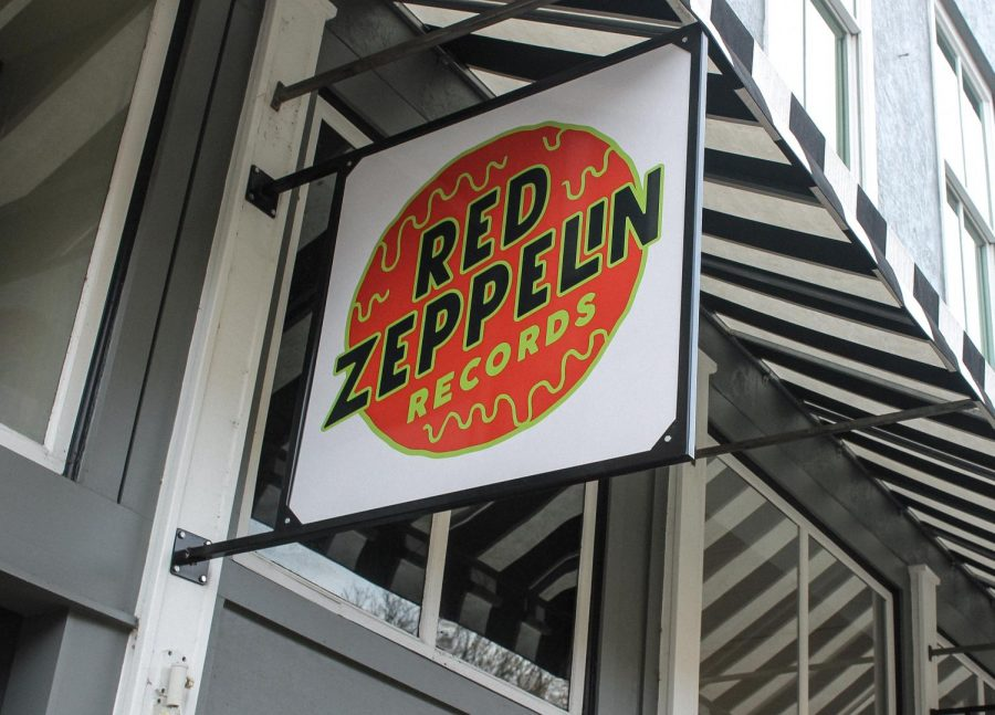 red zeppelin sign
