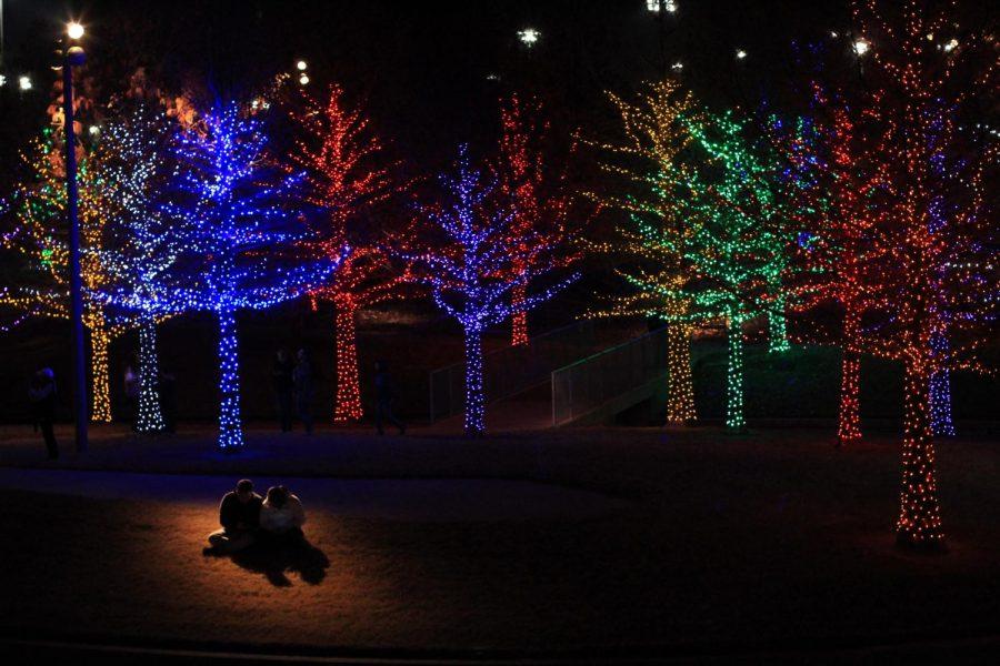 image of couple at vitruvian lights