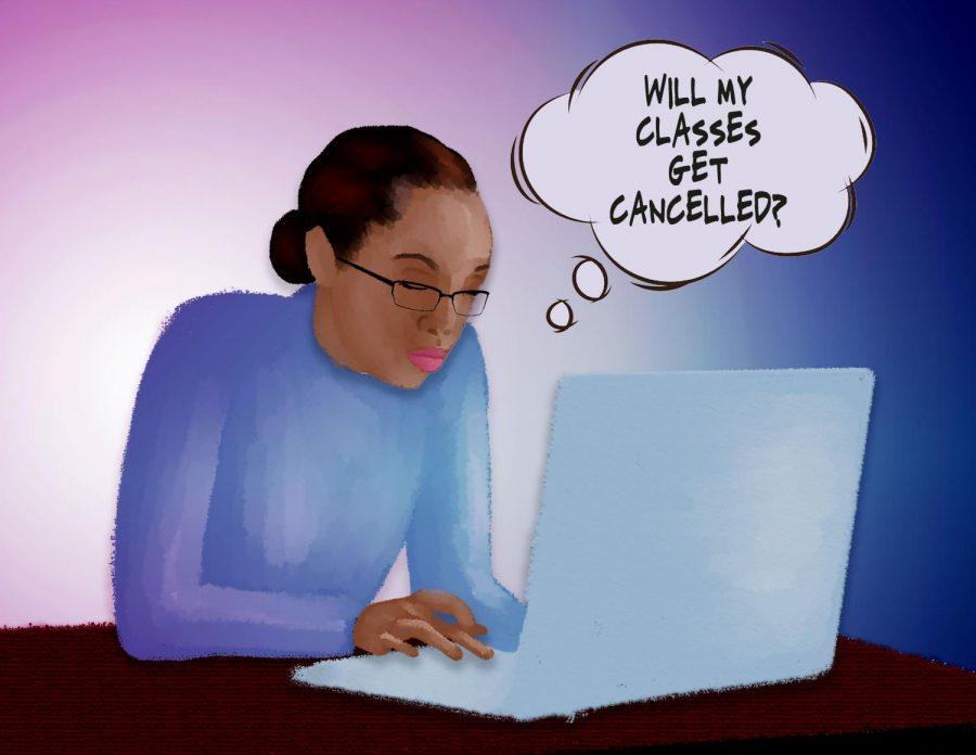 Cancelación de clases causa problemas