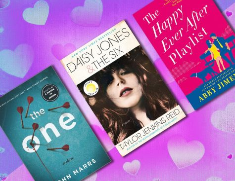 graphic for 5 books to read for valentines day