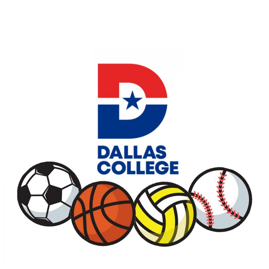 Illustration+of+sports+balls+below+Dallas+College+logo