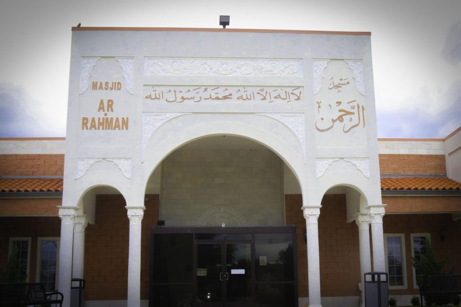 Photo of a mosque