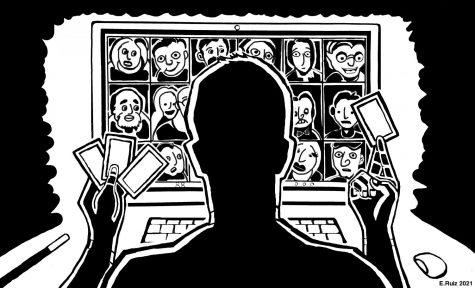 Illustration of virtual magic