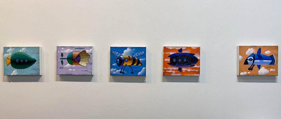 Photo of Ray-Mel Cornelius artwork